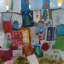 Коледен базар на картички