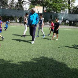 На 30 април 2018 в нашето училище се проведе Спортен празник. Имаше различни дейности и състезания, но най-атрактивни бяха футболните срещи между класовете. Учениците от прогимназията ходиха на поход сред природата.