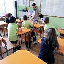 Радостина Николова гостува на 1.Б клас.